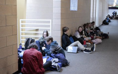Admin institutes hallway lunch policy