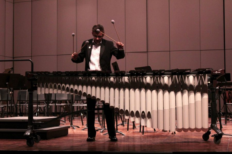 Senior excels in percussion