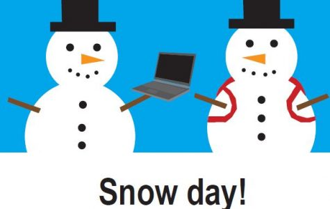 Online, in-person classes cancelled due to snow day tomorrow