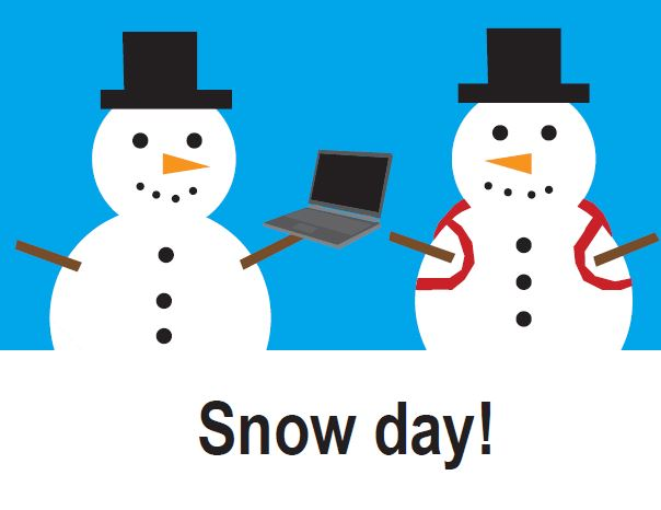 District cancels online, in-person due to snow day tomorrow