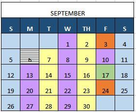 Principal announces schedule change